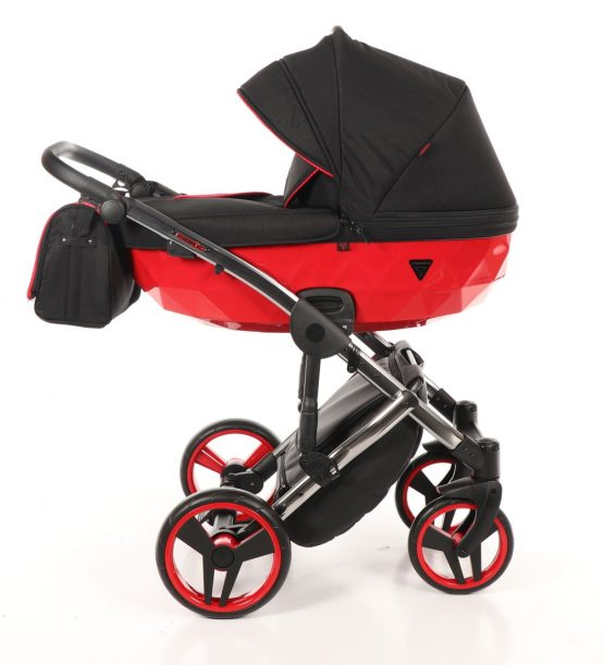 Junama SLine 01 Red Black – Carucior 3 in 1