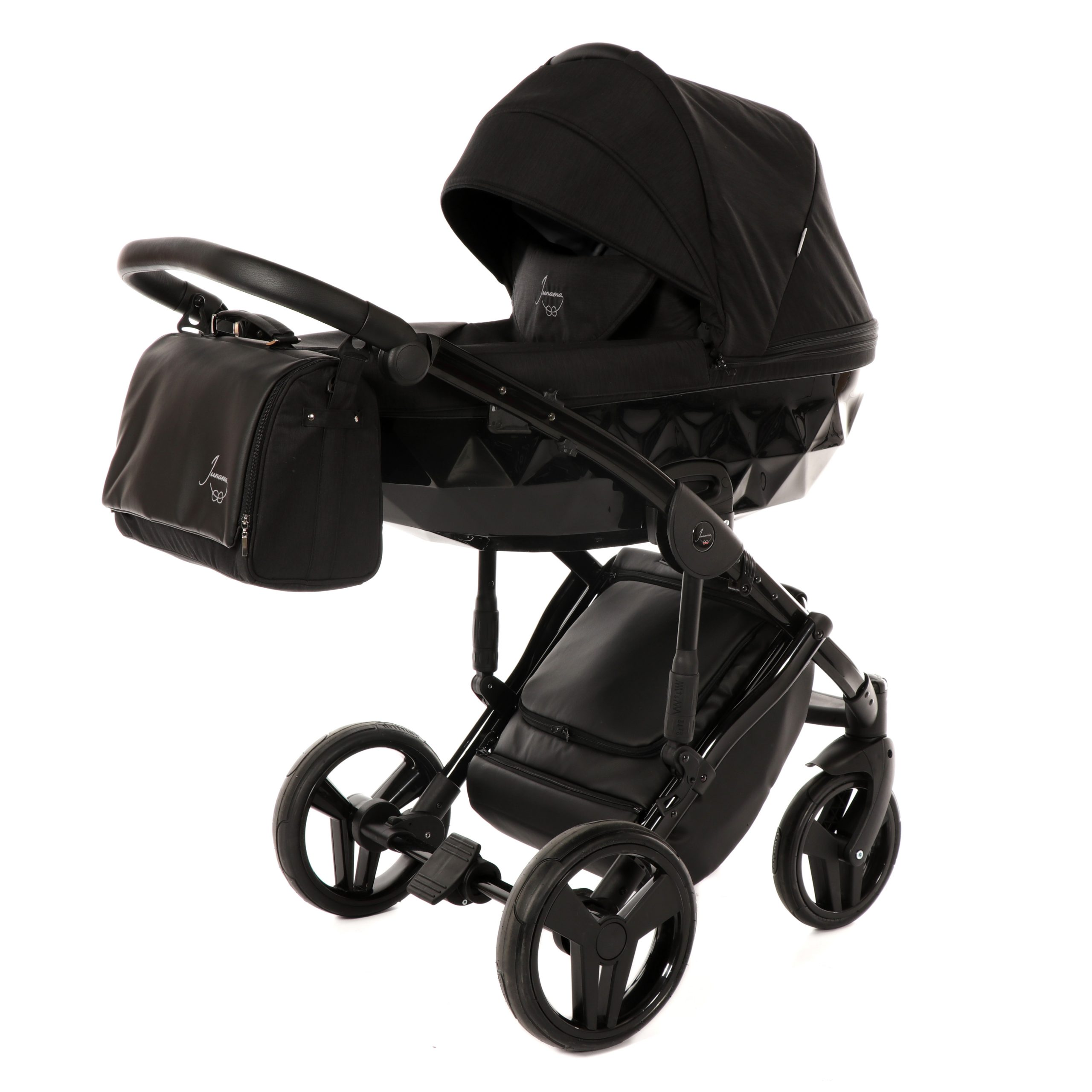 Junama Diamond 05 Black – Carucior 2 in 1