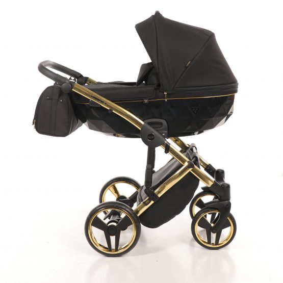 Carucior Junama Diamond S-Line 02 Gold Black 3in1