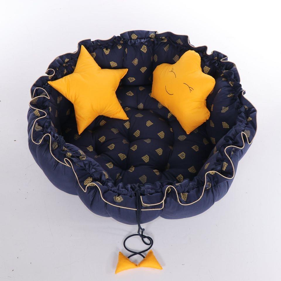 Baby Nest Junama Mat Pen 02 Blue