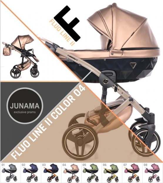 Junama Fluo Line 2.0 Cream 04 – Carucior 3 in 1