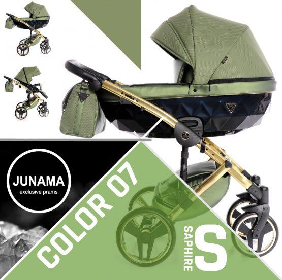 Carucior 3in1 Junama Saphire S07 Green