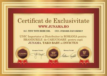 Junama Bebe - Tiny Tots Bebe - Unic Importator in Romania