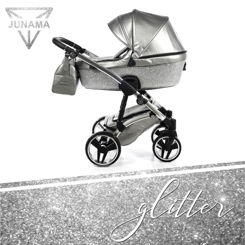 Junama Glitter 03 Grey – Carucior 3 in 1