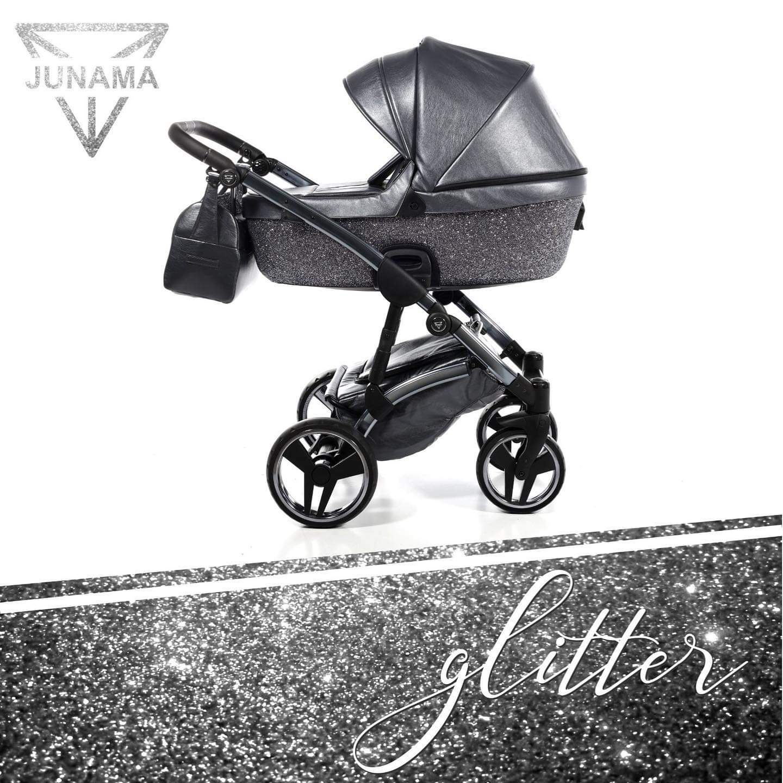 Junama Glitter 02 Graphite – Carucior 3 in 1